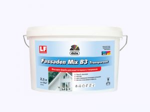 'Dufa Fassaden MIX B 3 transparent - фасадна боя