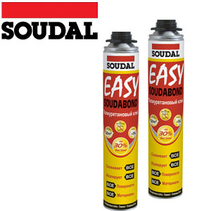 Soudabond Easy Пистолетно полиуретаново лепило - 750 мл.