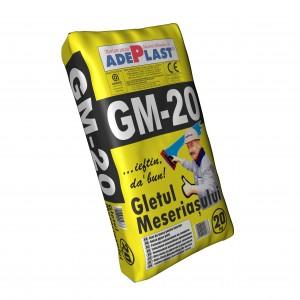 ADEPLAST GM20 - Гипсова шпакловка