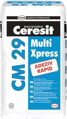 Ceresit CM 29 - Multi Xpress Бързо гъвкаво лепило за плочки 25 кг