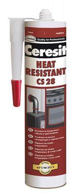 Ceresit CS 28 термоустойчив силикон  300мл червен